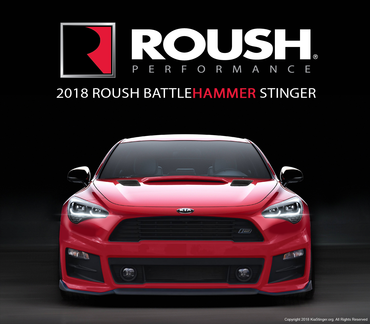 Roush Performance to debut a 507HP Kia Stinger at the 2018 ...
